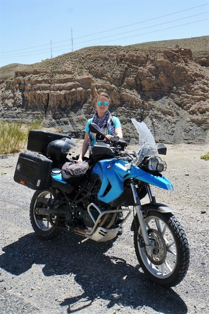 riding F650GS around the world