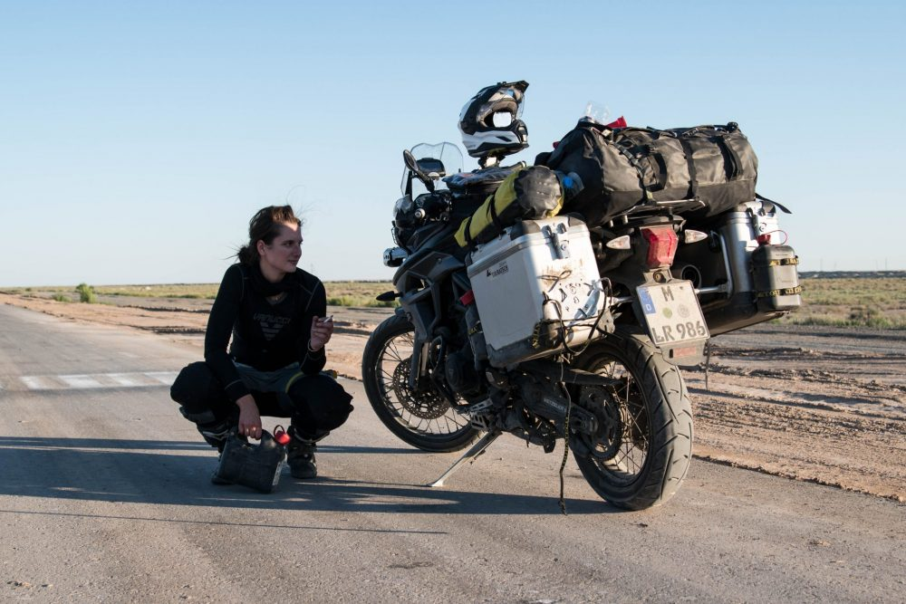 Lea Rieck, women ADV riders