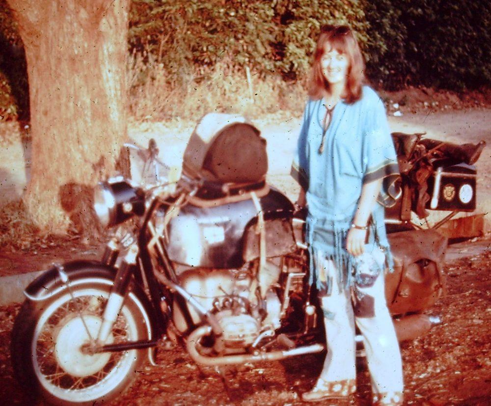 Linda Bick riding