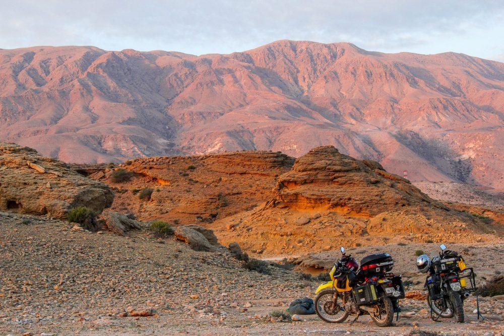 Liz Keily riding Oman