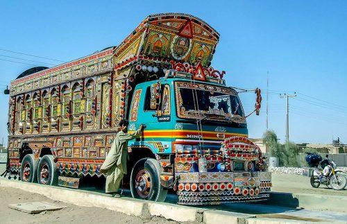Linda Bick riding Pakistan