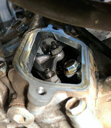 adjusting motorcycle valves