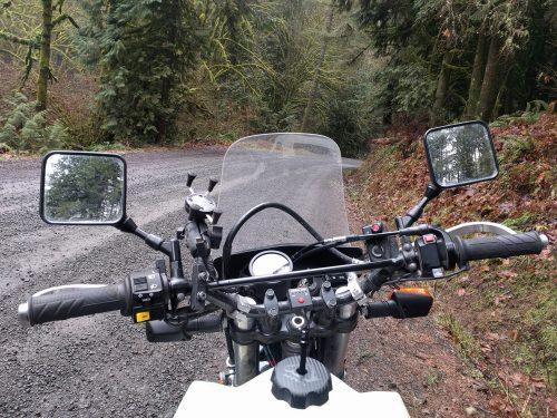 standing off-road