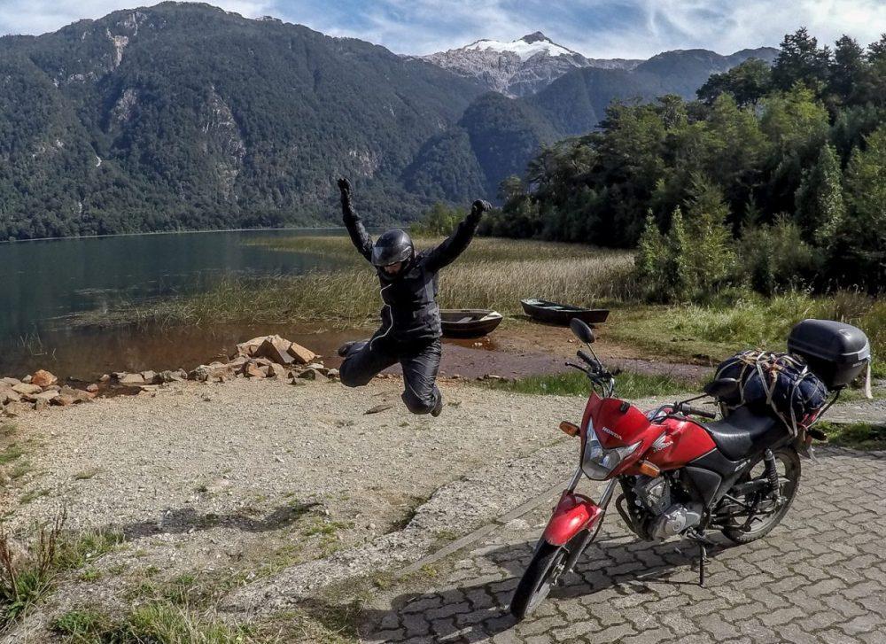 Tiny bike in South America