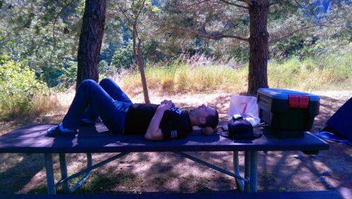 You're feeling very sleepy - Kris's husband naps too!