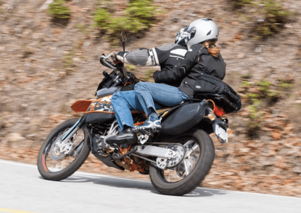 Rules to be a great pillion