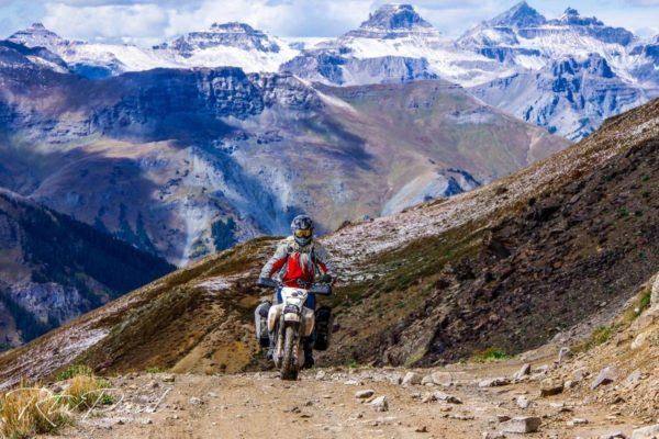 intermediate adventure motorcycling training