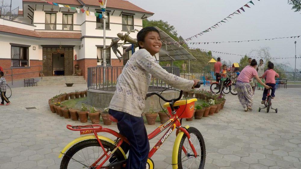 motorcycling in Nepal