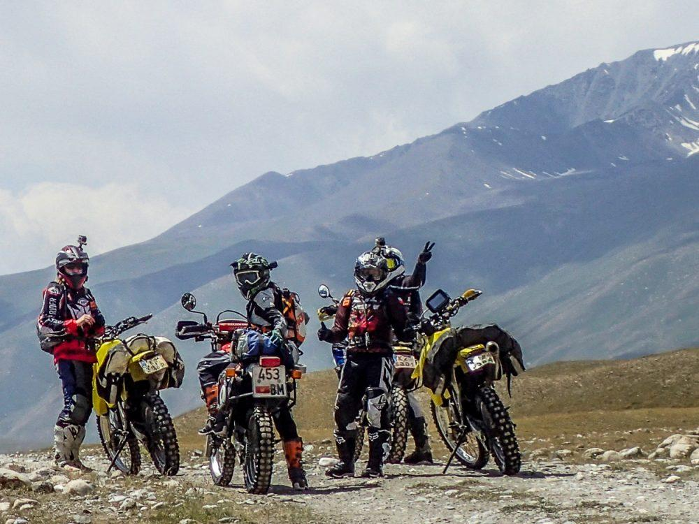 Motorcycle Adventure in Kyrgyzstan