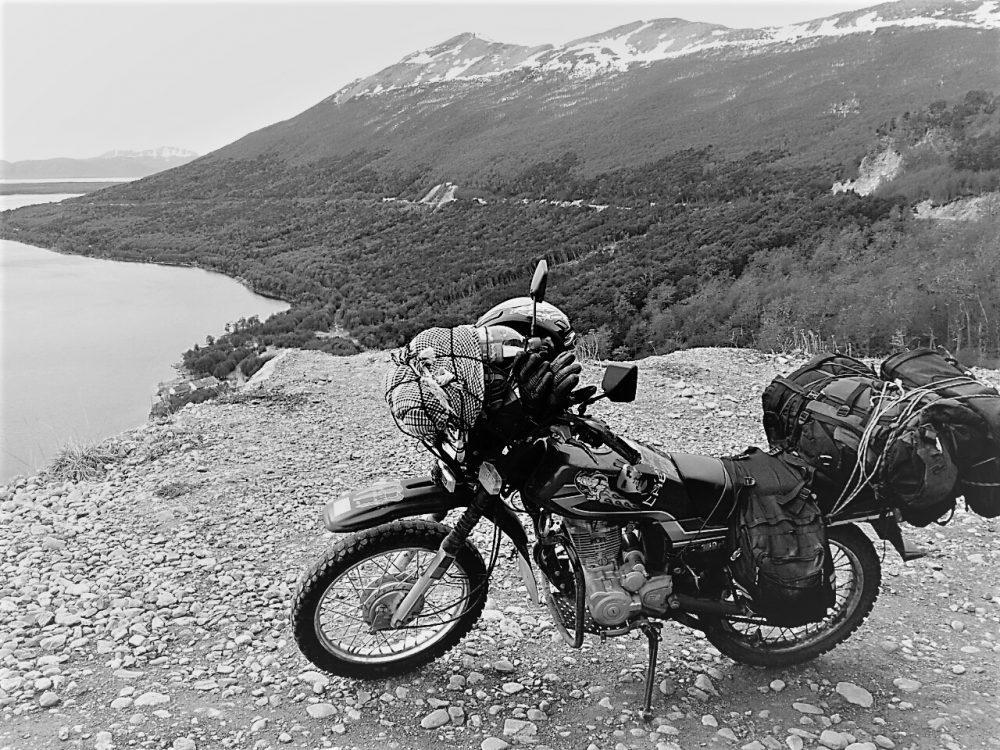 riding to Ushuaia