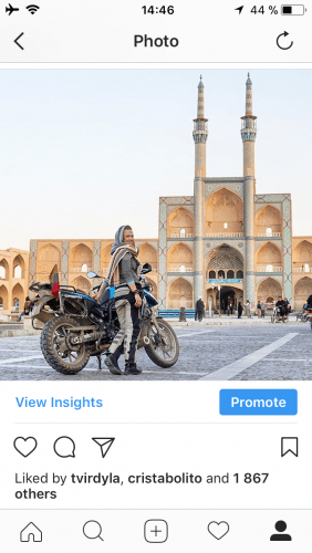 How To Have A Big Instagram Following: Show Your Bikes Off!