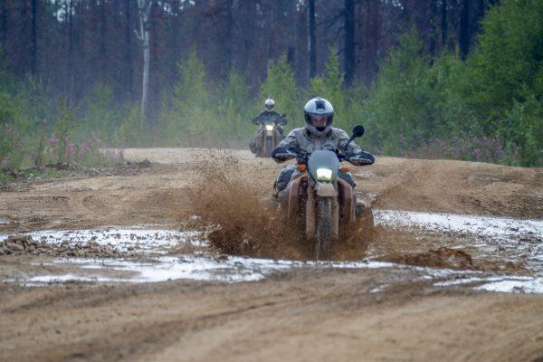 riding Siberia