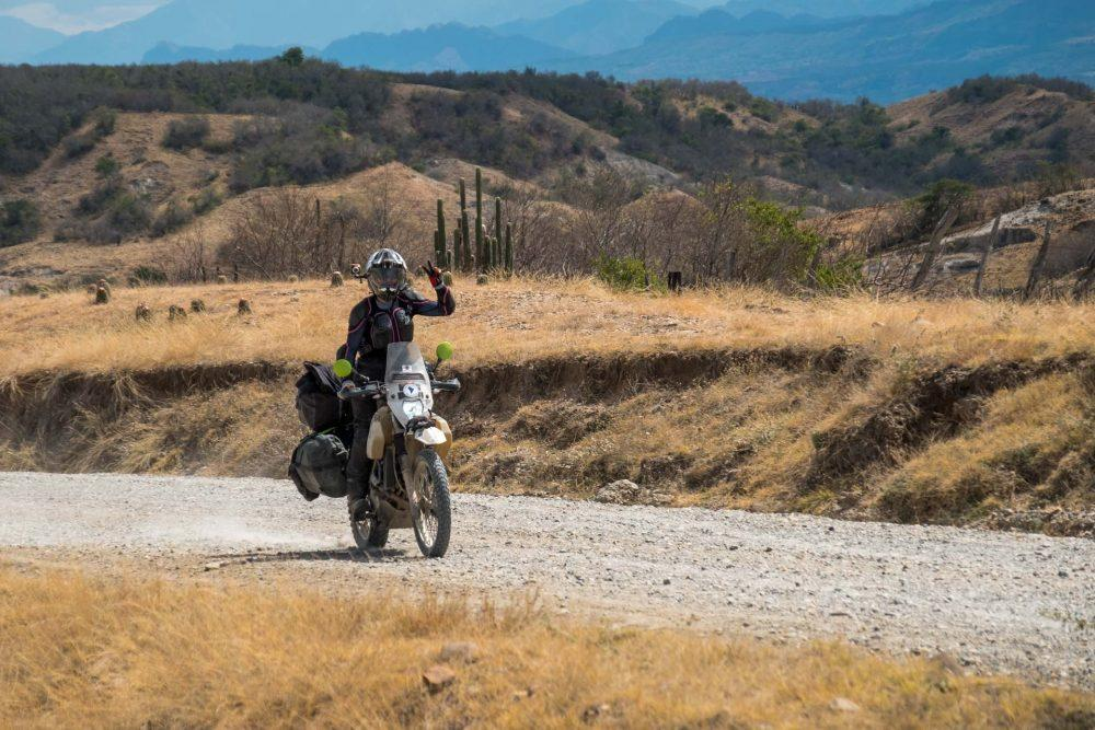 motorcycling in south america