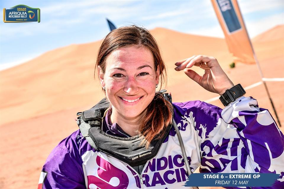 female Dakar rider