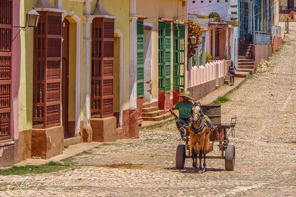 riding motorcycles in Cuba