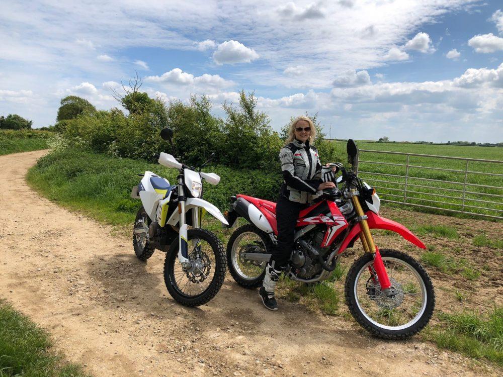 Riding the Trans Euro Trail: Jenna