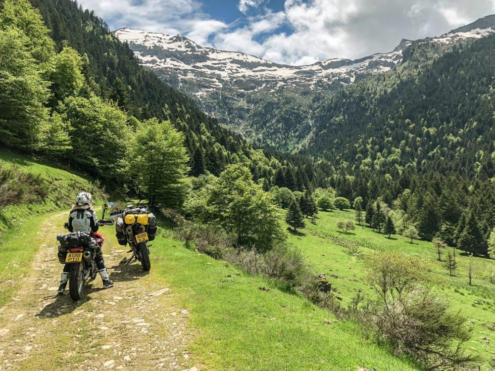 Riding the Trans Euro Trail: Jenna