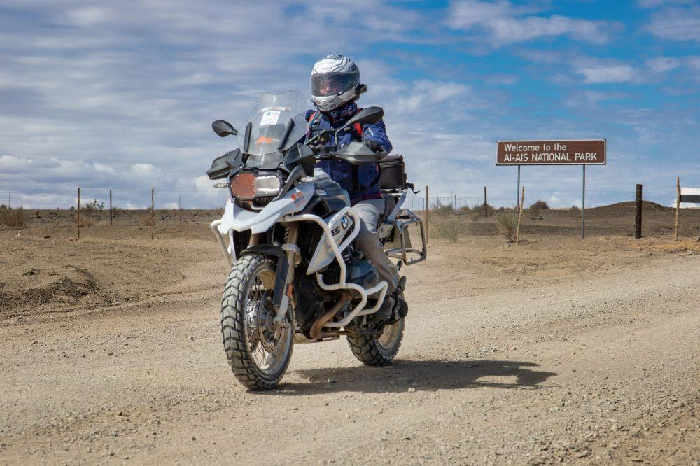 Riding with Charley Boorman: Jody's Africa www.womenadvriders.com