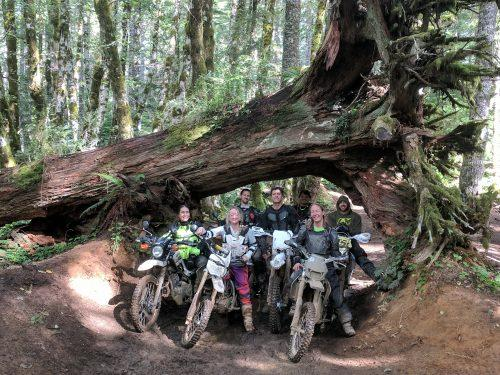 off road riding is like parenting